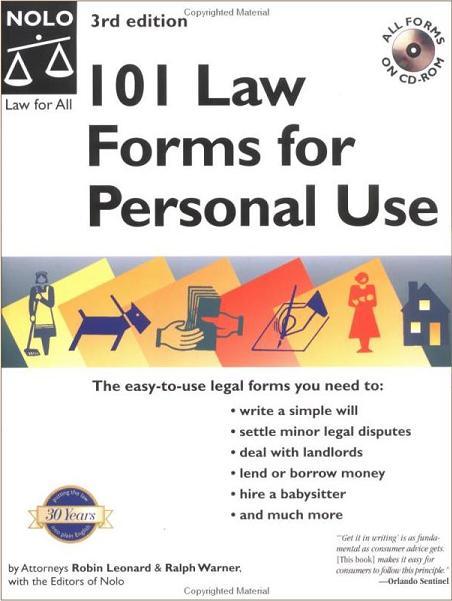 Law Books Private Investigators Union Private Investigator - Law forms for personal use