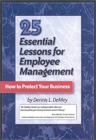 25 Essential Lessons for Employee Management