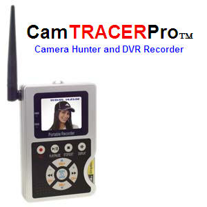CamTRACERPro (TM) - Camera Hunter and Recorder