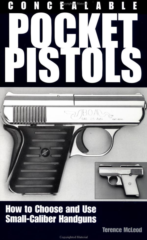 Concealable Pocket Pistols