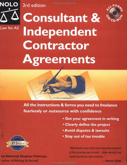 Consultant Independent Contractor Agreements Click To Enlarge