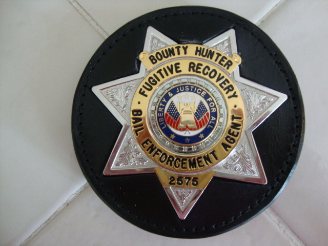 On Sale: BOUNTY HUNTER BADGE BELT CLIP GOLD & SILVER
