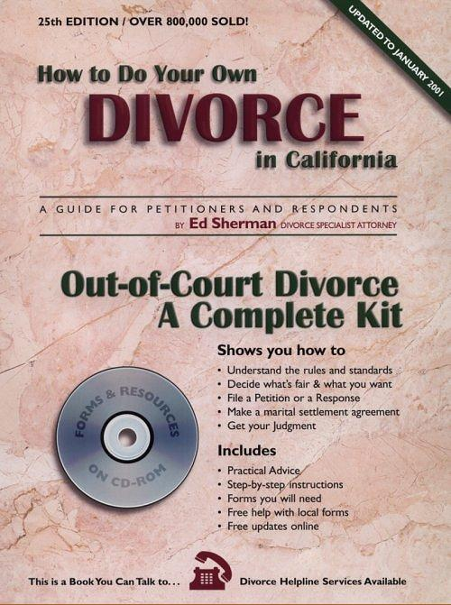 How to write divorce papers