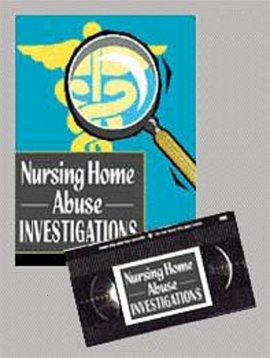 NURSING HOME INVESTIGATIONS THE BOOK