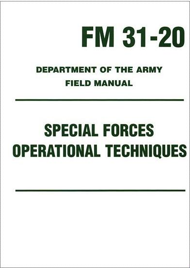 Special Forces Operational Techniques (FM 31-20)