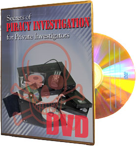 Piracy Investigations DVD
