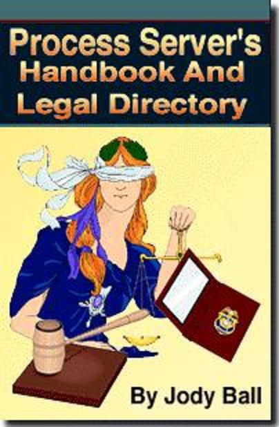 PROCESS SERVER'S HANDBOOK AND LEGAL REFERENCE DIRECTORY  Technic