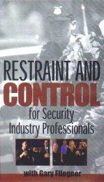 Restraint and Control for Security Industry Professionals