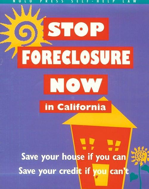 Stop Foreclosure Now in California