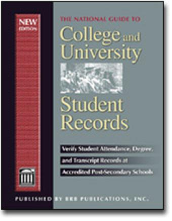 The National Guide to College and University Student Records