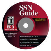 The SSN Validator CD-ROM