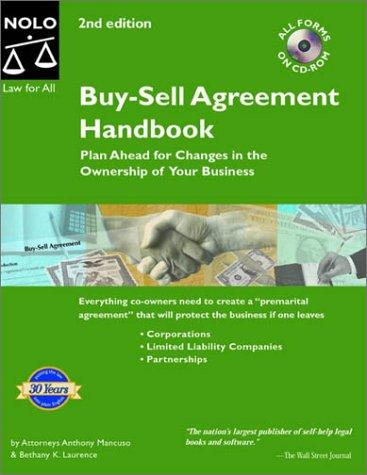 Buy-Sell Agreement Handbook: Plan Ahead for Changes in the Owner