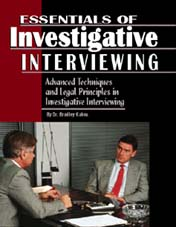 Essentials Of Investigative Interviewing