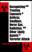 RECOGNIZING AND TREATING EXPOSURE TO ANTHRAX, SMALLPOX, NERVE GA