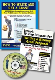 Grant-Writing Basics : Book & CD