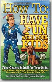 NEW Book : How To Have Fun With Your Kids