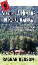 STARTING A NEW LIFE IN RURAL AMERICA