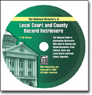 2007 Local Court and County Record Retriever-CD