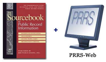 Sourcebook to Public Record Information PLUS The Public Record R